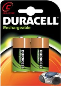 Duracell Rechargeable C Size Batteries 1.2 V [Pack of 2]