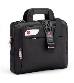 i-stay 13.3 inch Tablet, Netbook, Ultrabook Bag w/ non slip bag strap; IS0107; Black