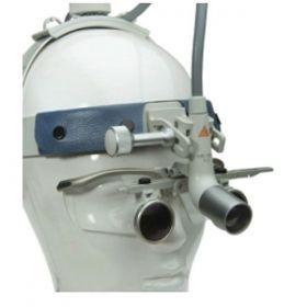 Heine MD1000 F. O. Kit 5 with HRP Binocular Loupes 6 x/340