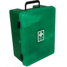 British Standard Compliant Easy Check First Aid Cabinet, Large