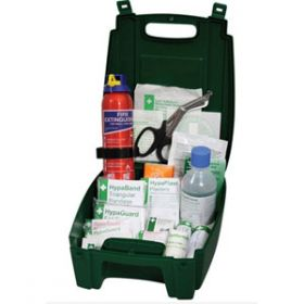 Evolution British Standard Compliant Vehicle First Aid & Fire Extinguisher Kit