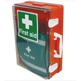 British Standard Compliant Outdoor First Aid Cabinet, Small