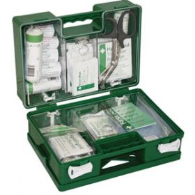 British Standard Compliant Deluxe Catering First Aid Kit, Small