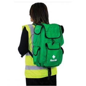 British Standard Compliant Comprehensive First Aider Rucksack
