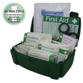 Motor Vehicle First Aid Kit Medium BS 8599-2 in Evolution Box