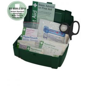 Motor Vehicle First Aid Kit Small BS 8599-2 in Evolution Box
