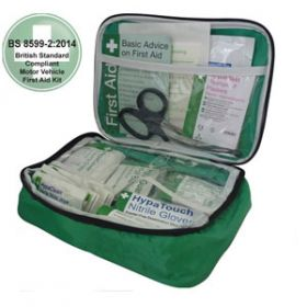 Motor Vehicle First Aid Kit Medium BS 8599-2 in Pouch