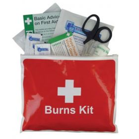 Burns Stop Burns Kit in Vinyl Wallet, Medium