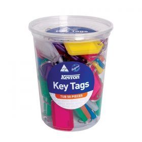 KEVRON STANDARD KEY TAGS ASsRTED P50