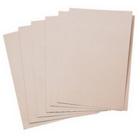 Q Connect 170gsm Square Cut Folder Kraftliner Foolscap Buff [Pack of 100]