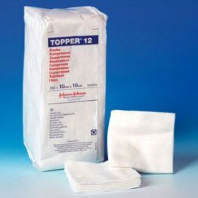 Non-Sterile Swabs, 7.5cm x 7.5cm  6 Ply Topper 12  [Pack of 100]