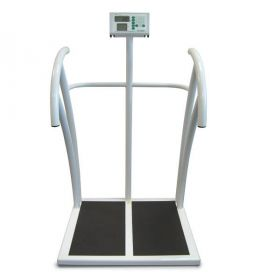 Marsden MPHR-300 Professional High Capacity Scale with Handrails and BMI