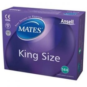 Mates King Size Condoms Clinic Pack [Pack of 144]