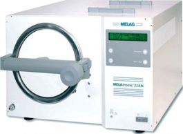 Melag Type N Autoclave - 15EN with 3 trays