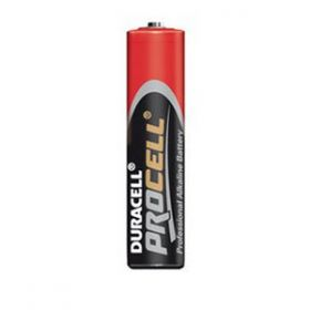 Duracell Procell Alkaline 1.5 Volt Size AAA Battery [Pack of 10]