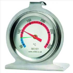 S/S 50mm dia Dial Oven Thermometer