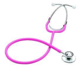 Merlin MW3560PK Dual Head Stethoscope (Adult) - Pink