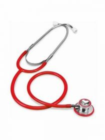 Merlin MW3560RD Dual Head Stethoscope (Adult) - Red