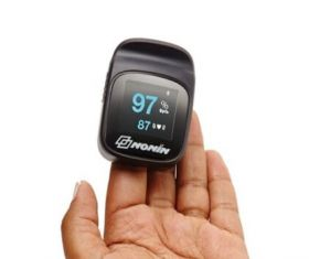 Nonin Connect 3240 Wireless Finger Oximeter (Bluetooth v4.0 Data Transfer).