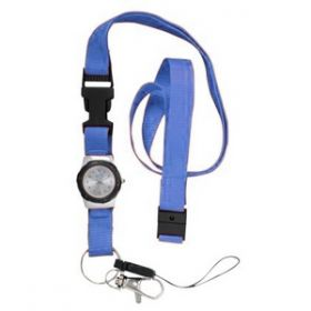 Nurse's Watch with Lanyard - Blue