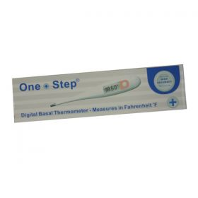 ONE STEP BASAL DIGITAL THERMOMETER - FAHRENHEIT [Pack of 1]