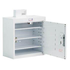 Bristol Maid Drug & Medicine Cabinet - 600 X 300 X 600mm - Light - Deep Shelves - R/H Hinge