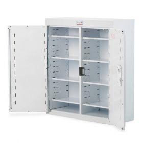 Bristol Maid Drug & Medicine Cabinet - 800 X 300 X 900mm - No Light - Deep Shelves - Independent Locking Doors