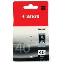 CANON PG-40 BLACK INKJET CARTRIDGE