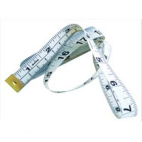 Polyester Tape Measure 1.5m White