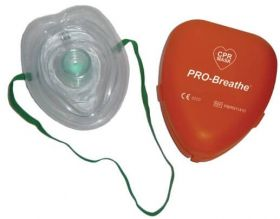 PRO-Breathe CPR Mask with Hard Case, Adult/Paediatric