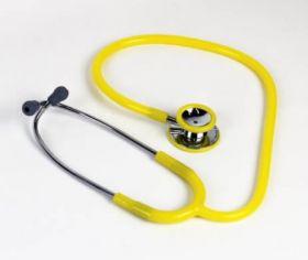 Proact Lightweight Dual Head Doctors Stethoscope (Yellow)