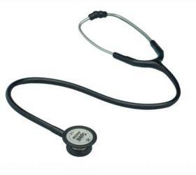 Proact Professional Dual Head Pressure Sensitive Stethoscope (Black)
