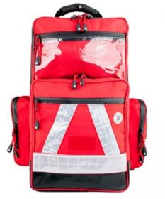 Proact WaterStop Paramedic Backpack, PRO, 600D Poly Fabric, Red