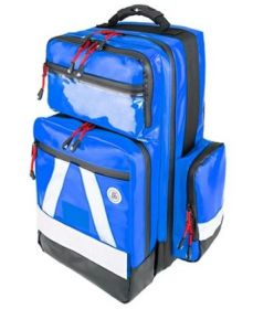 Proact WaterStop Paramedic Backpack, PRO, Wipe-down PVC Fabric, Blue