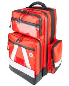Proact WaterStop Paramedic Backpack, PRO, Wipe-down PVC Fabric, Red