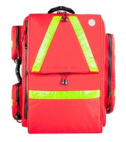 Proact WaterStop Paramedic Backpack, PROFI, 600D Poly Fabric, Red