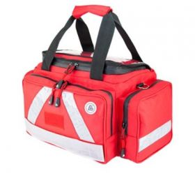 Proact WaterStop Paramedic Bag, FREE, 600D Poly Fabric, Red