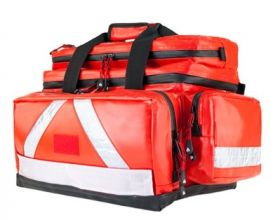 Proact WaterStop Paramedic Bag, ULTRA, Wipe-down PVC Fabric, Red