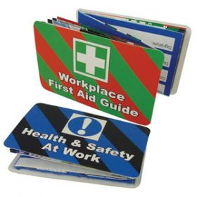 Health & Safety at Work and Workplace First Aid Guide Pack of 20