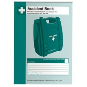 Accident Book, A5 Pack of 10