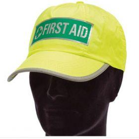 Hi-Visibility First Aider Cap