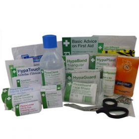 British Standard Compliant Vehicle First Aid Refill