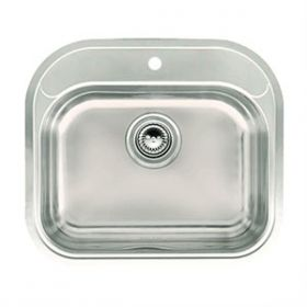 Hart Rectangular Medical Sink - 1 Tap Hole