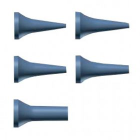 Riester 10801-539 Disposable Ear Specula for Ri-Scope L3 Otoscope Pack of 100 - 09mm Blue