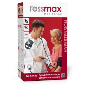 Rossmax Aneroid Sphygmomanometer With Wrap Cuff [Pack of 1]