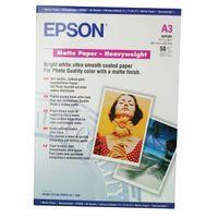 EPSON PHOTO PPR A3 167G MAT HWT PK50
