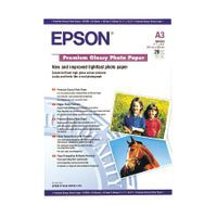 EPSON PHOTO PPR A3 GLSY 255G PK20