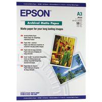 EPSON PHOTO PPR A3 192G MATTE PK50