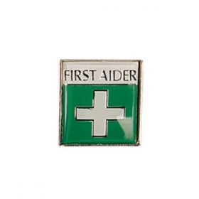 Badge (Metal) First Aid OFFER - Pack of 20