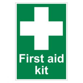 First Aid Kit Sign - Rigid 200x300mm